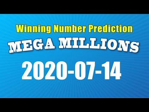 Winning numbers prediction for 2020-07-14|U.S. Mega Millions