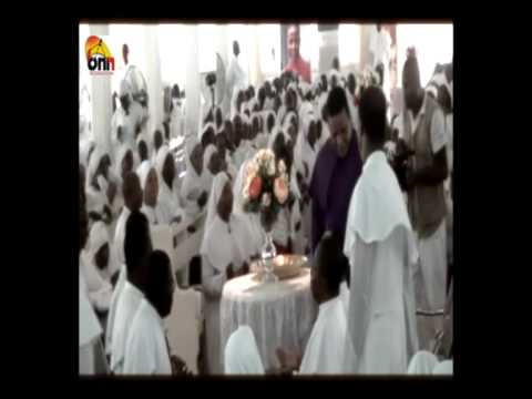 Overflowing blessings from the Holy Father at the end of the August 2012 Pentecostal Assembly