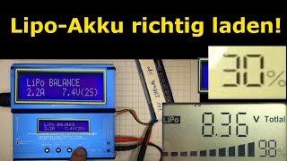 #004 - Lipo richtig laden - Lithium-Polymer-Akku richtig laden - einfach erklärt   Lehrerschmidt