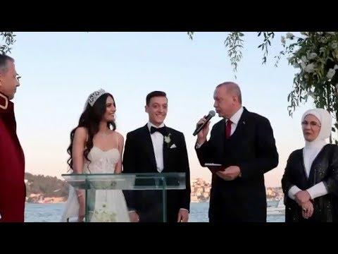 العرب اليوم - زواج اللاعب الدولي الألماني السابق مسعود أوزيل بحضور أردوغان