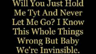 Baby we're invinsible by a rocket to the moon lyrics