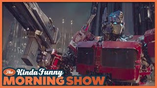 Bumblebee Official Trailer Reacts - The Kinda Funny Morning Show 09.24.18