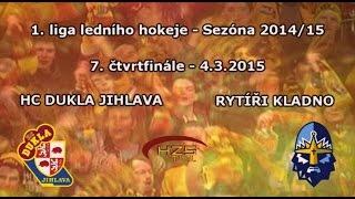 preview picture of video 'ČF7 (4.3.2015) Dukla Jihlava - Rytíři Kladno'