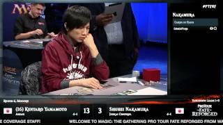 Pro Tour Fate Reforged Round 6 (Modern): Shuhei Nakamura vs. Kentaro Yamamoto