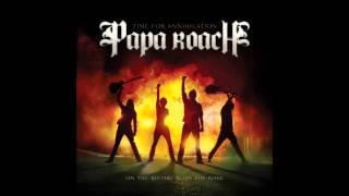 Papa Roach - Between Angels And Insects (Live) HQ + Lyrics