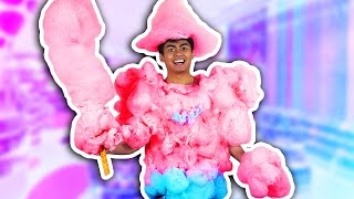 DIY COTTON CANDY ARMOR!