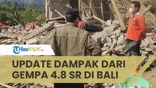 Update Dampak Gempa Bali: Puluhan Korban Luka-luka, Ratusan Rumah Rusak, 1 Orang Meninggal