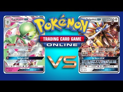 Gardevoir GX VS Solgaleo GX – Pokemon TCG Online Game Play