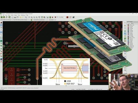 EEVblog #1247 - DDR Memory PCB Propagation Delay & Layout