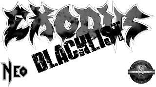 Exodus - Blacklist guitar cover - FREE BACKING TRACKS