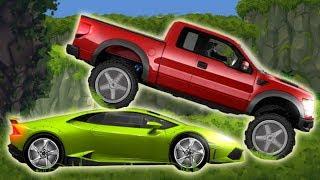 Гоночные машинки мультфильмы игры для детей на андроид Exion Hill Racing Серия 3