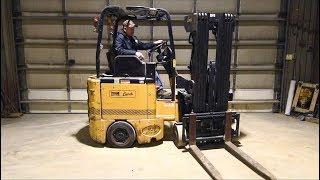 Bendi Swing Reach Narrow Aisle Forklift Demo