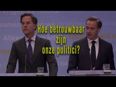 Hugo de Jonge & Mark Rutte: Hoe betrouwbaar zijn onze politici?