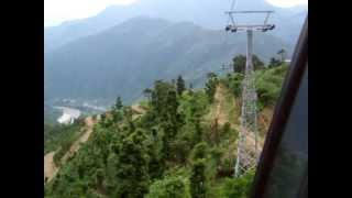 preview picture of video 'Manakamna cable car trip, Nepal'