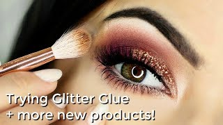 Beginner Glitter Eye Makeup Tutorial Talk Through + All NEW Makeup Fun!