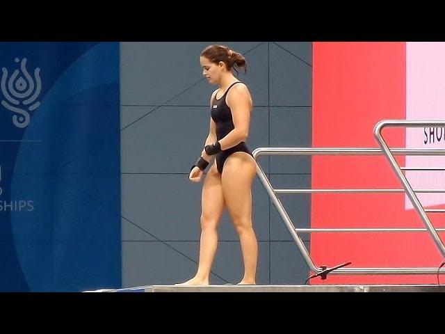 Diver Girls Training Session