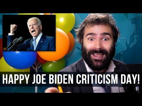 Happy Joe Biden Criticism Day - SOME MORE NEWS