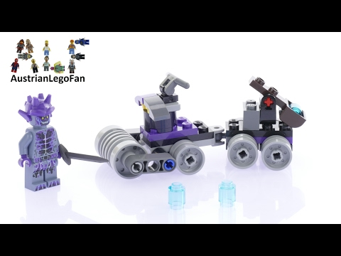Vidéo LEGO Nexo Knights 30378 : La mini tête d'assaut (Polybag)