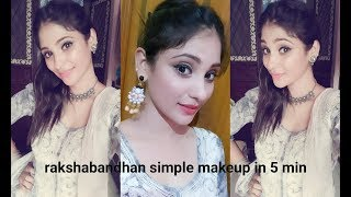 Rakshabandhan Makeup For Every Sister    5 Min Easy & Simple    Shy Styles
