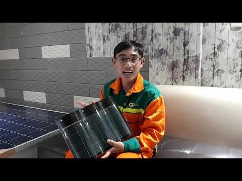 Tấm ngói năng lượng mặt trời đầu tiên ở Việt Nam