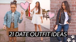 21 DATE OUTFIT IDEAS (casual, Fancy, First Date, + More!) ♡