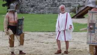 preview picture of video 'Gladiatorenfest 23.08.2014 Carnuntum, Österreich'