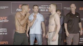 UFC Philadelphia: Careos Pesaje