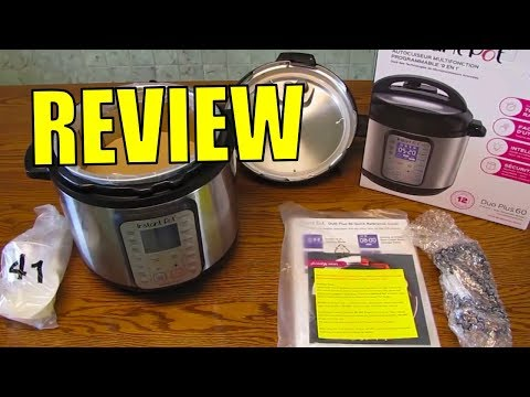 , Instant Pot DUO Plus 60  9-in-1 Multi-Use Programmable Pressure Cooker
