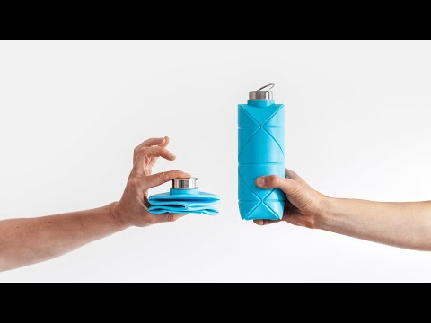 DiFOLD Origami Bottle: Pocket Sized Reusable Hero-GadgetAny