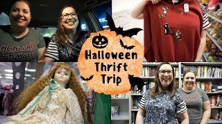 Halloween Thrift Trip | Finding My Costume, Haunted Dolls, And Sister Shenanigans