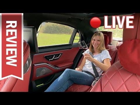 Mercedes S-Klasse im Live Test -  sämtliche Funktionen (S500 4Matic lang)