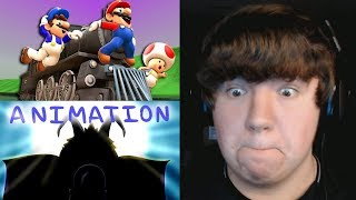 Reaction Monday #16 - SMG4: Mario