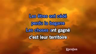 Karaoké La vie par procuration (Live) - Jean-Jacques Goldman *