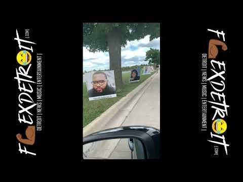 Heartbreaking: Detroit Covid-19 Memorial Drive