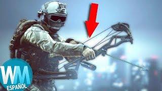 ¡Top 10 ARMAS RARAS en Videojuegos!