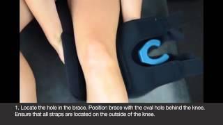 Video: Hely Weber Shields Knee Brace #5674