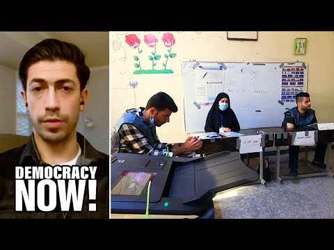"""Iraqi Journalist: Amid Low Election Turnout, """"Iraq's Streets Littered with the Memories of Our Dead"""""""