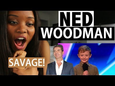 BRITIAN'S GOT TALENT 2017 - Ned Woodman Audition - REACTION [Savage!]