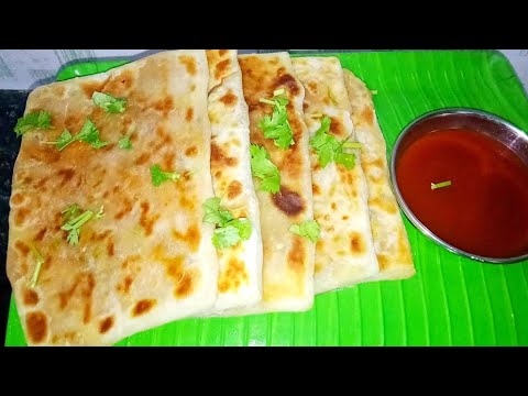 BREAKFAST RECIPE – MUGHLAI PARATHA – MUGHLAI PARATHA IN TAMIL – HOW TO MAKE MUGHLAI PARATHA