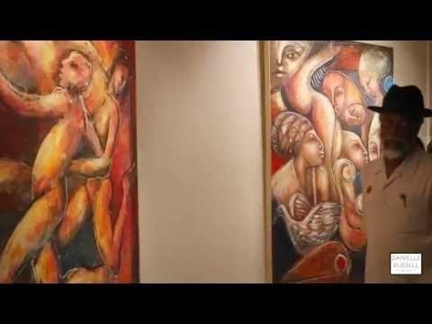 "Jamaican Art Exhibition, ""Milestone: Cecil Cooper at 70"""