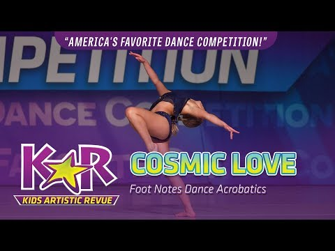 """Cosmic Love"" from Foot Notes Dance Acrobatics"
