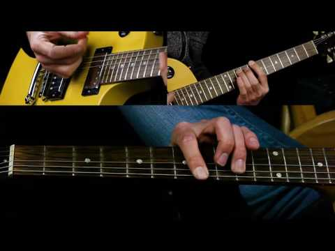 How To Play Power Chords on Electric Guitar - Easy Guitar Chords
