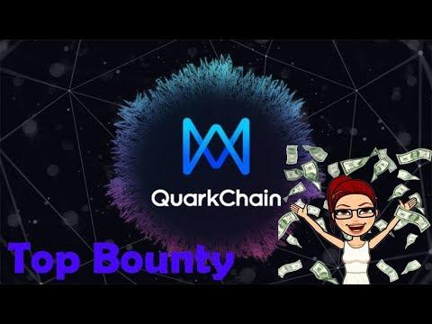 R$177,000.00 MIL reais no Bounty da Quarkchain , VAI PERDER?