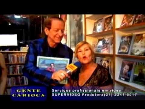Adriana Igrejas dá entrevista sobre seu livro no Programa Gente Carioca