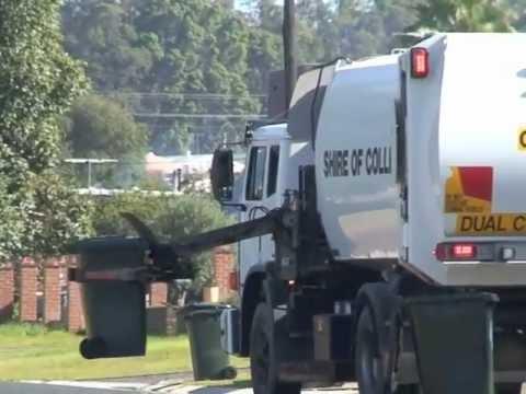 【GIF画像】ゴミ集収車を全自動にした結果www