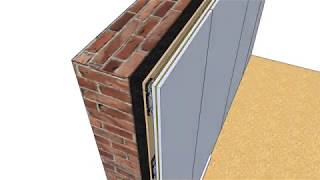 Wall Soundproofing with the ReductoClip Independent Wall System