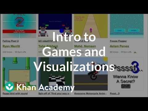 A thumbnail for: Advanced: Games & Visualizations