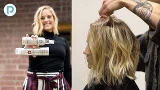 Angled Lob Haircut Tutorial   How To Achieve The Lived In Long Bob Look