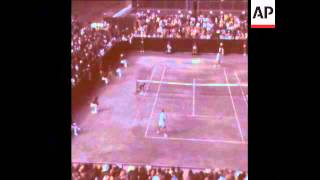 SYND 11-10-71 SMITH V TIRIAC IN DAVIS CUP
