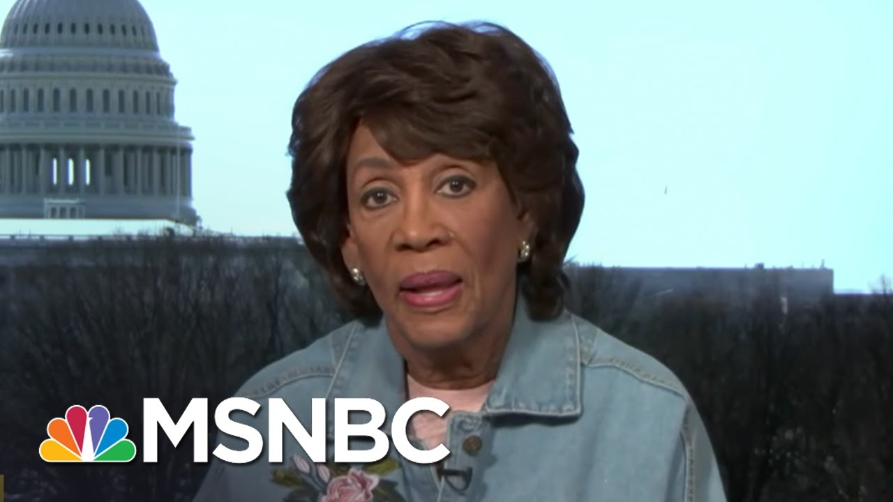 Rep. Maxine Waters: I Think President Donald Trump Is Going Down | AM Joy | MSNBC thumbnail